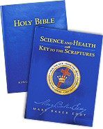 Our text books - The Bible along with Science and Health